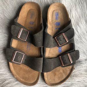 Birkenstock Arizona Suede sandals 36 Narrow